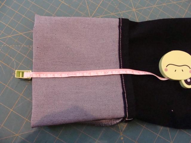 c68654e757a spijkerbroek inkorten en de originele rand behouden – Maak iets moois