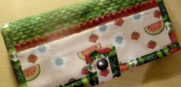 Tassen maken: Watermelon portemonnee