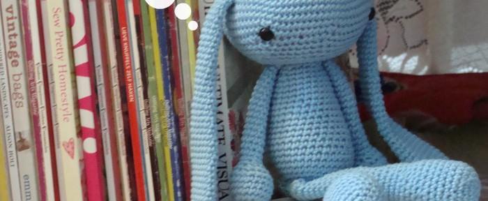 Amigurumi v/d maand – Weer een konijntje