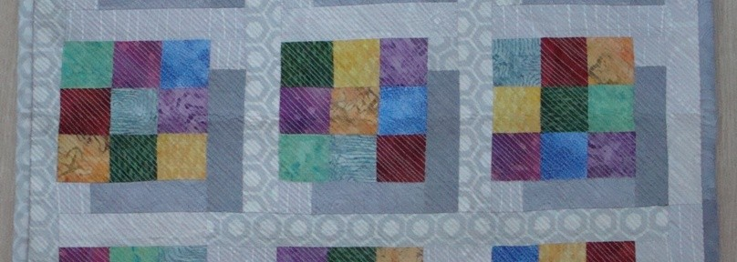 3D Sudoku mini quilt